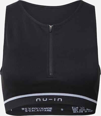 NU-IN ACTIVE Biustonosz sportowy w kolorze czarnym, Podgląd produktu