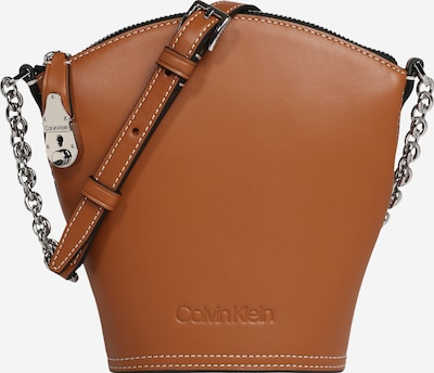 Calvin Klein Skuldertaske i brun, Produktvisning