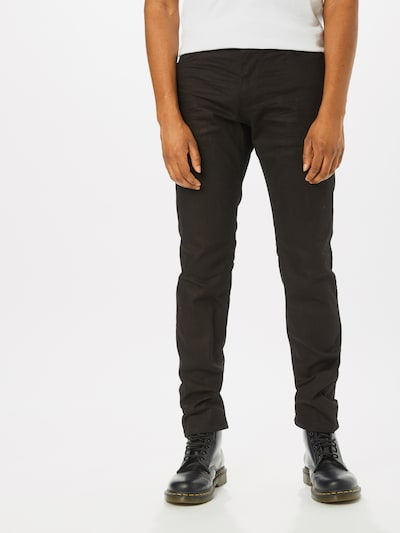 TOM TAILOR Jeans 'Josh' in black denim, Modelansicht
