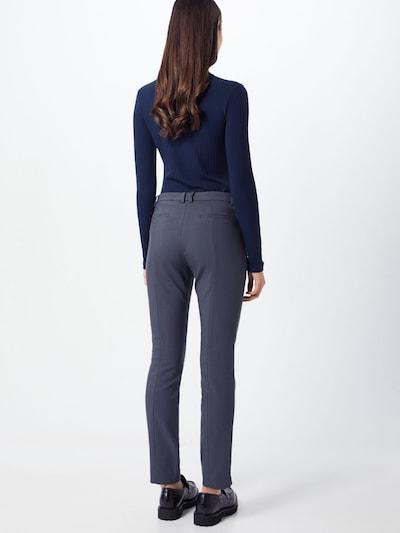 Kelnės iš MORE & MORE , spalva - melsvai pilka: Vaizdas iš galinės pusės