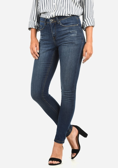 Blend She 5-Pocket-Jeans 'Adriana' in blue denim, Produktansicht