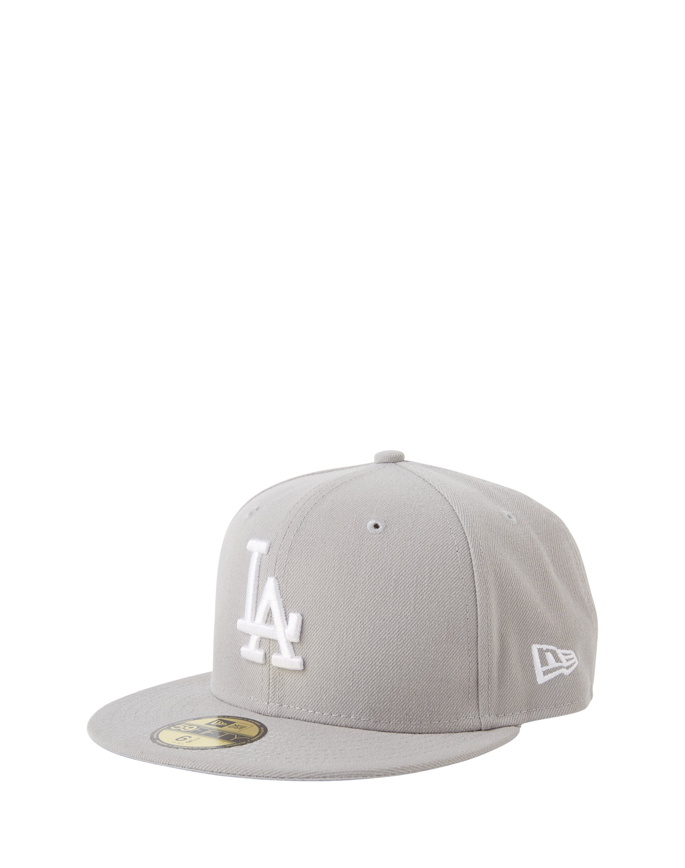 Casquette Angeles' Basic Mlb En Gris Era Los New '59fifty e9Y2EDWHI