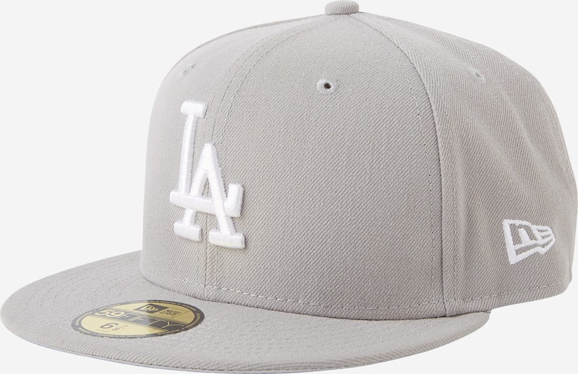 NEW ERA Cap '59FIFTY MLB  Basic Los Angeles' in grau, Produktansicht