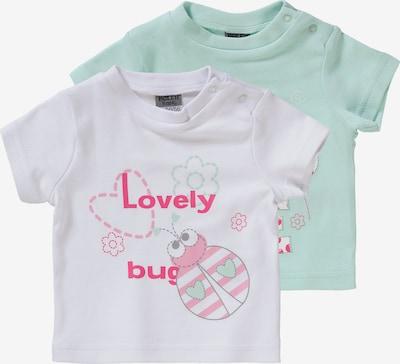 Boley Baby T-Shirt Doppelpack in grün / rosa, Produktansicht