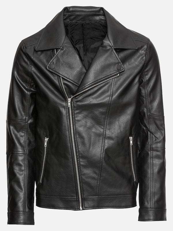 KIOMI Lederjacke 'FOSTER BIKER JACKET' in schwarz | ABOUT YOU