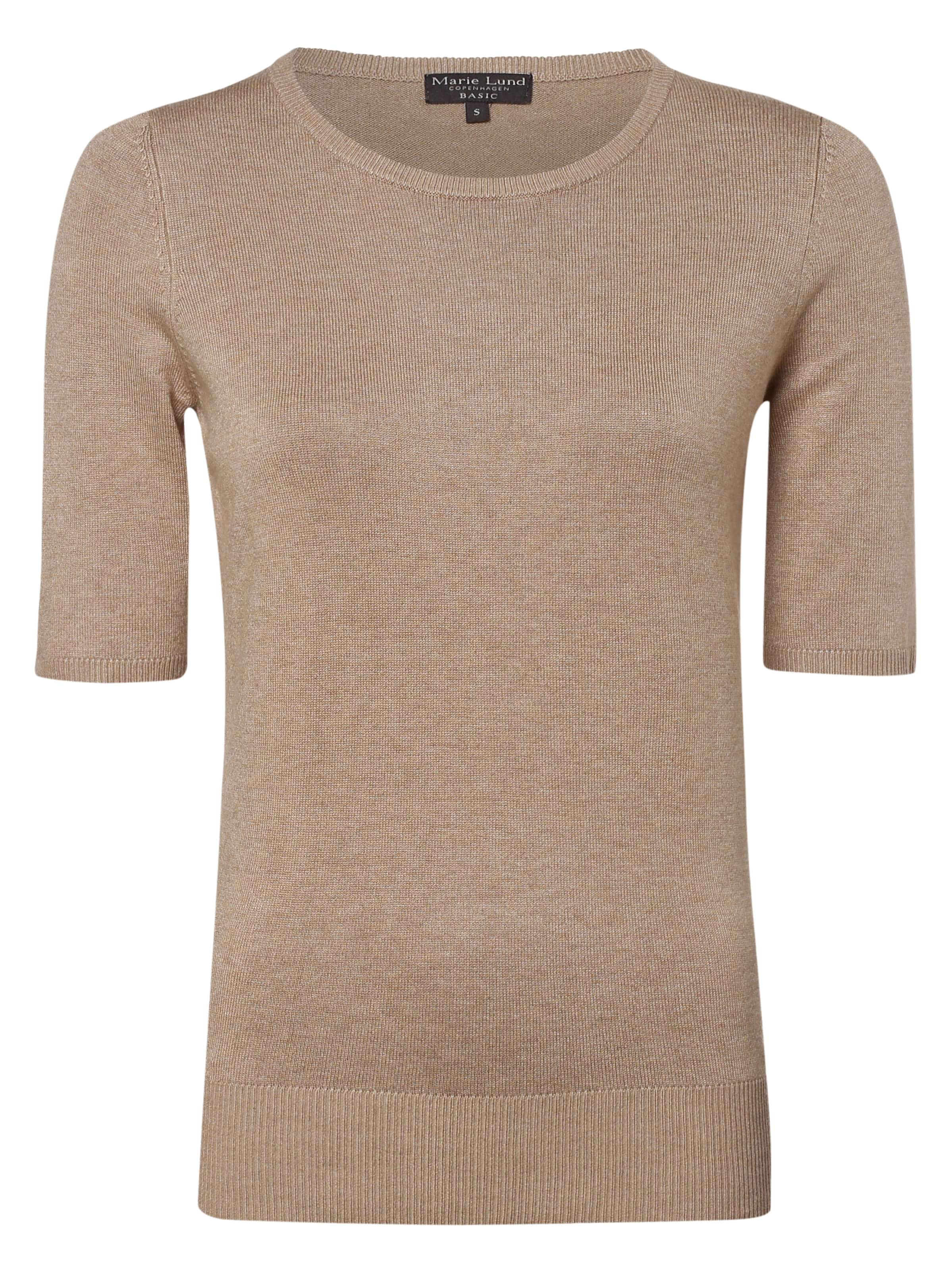 Marie Marie Lund Lund In Pullover Taupe Ybymf7gIv6