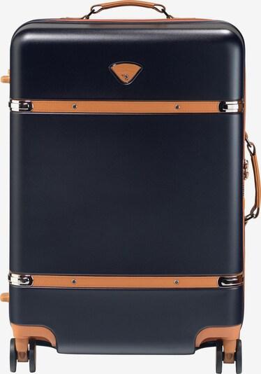 Jump Kabinentrolley 'Riviera' in nachtblau / apricot, Produktansicht