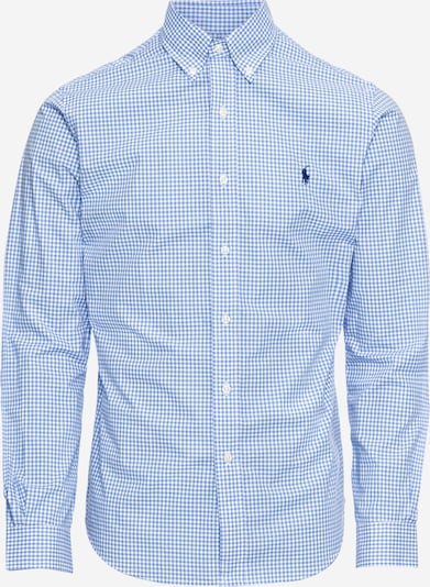 POLO RALPH LAUREN Skjorta 'SL BD PPC SP-LONG SLEEVE-SPORT SHIRT' i blå / vit, Produktvy