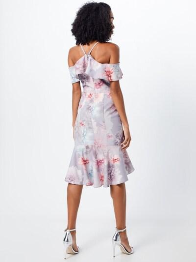 Chi Chi London Koktejl obleka 'CHI CHI ETIENNE DRESS' | pastelno roza barva: Pogled od zadnje strani