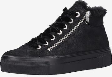 Legero High-Top Sneakers in Black