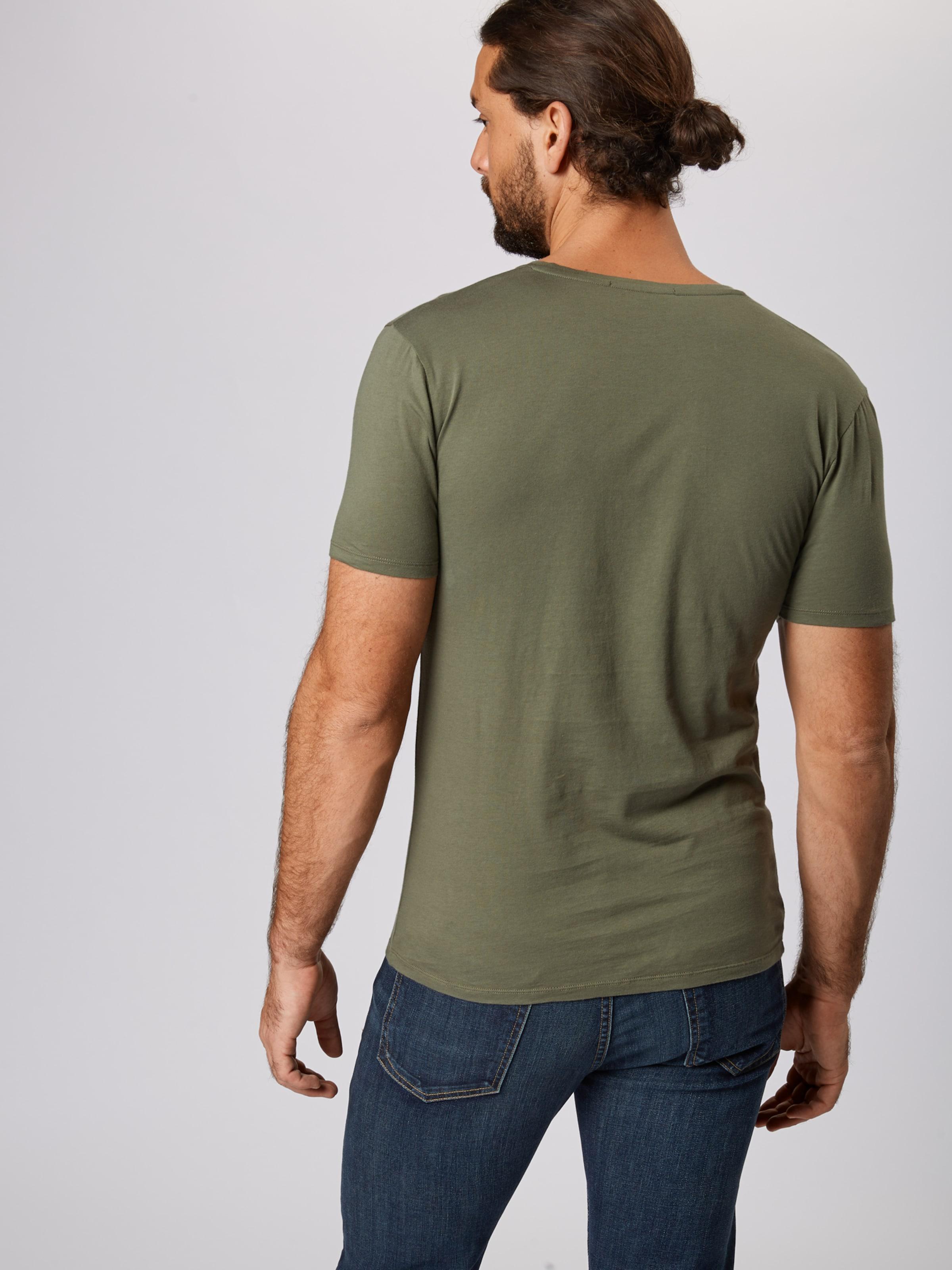 'quentin' Vert Drykorn T shirt En Foncé IY29WEDH