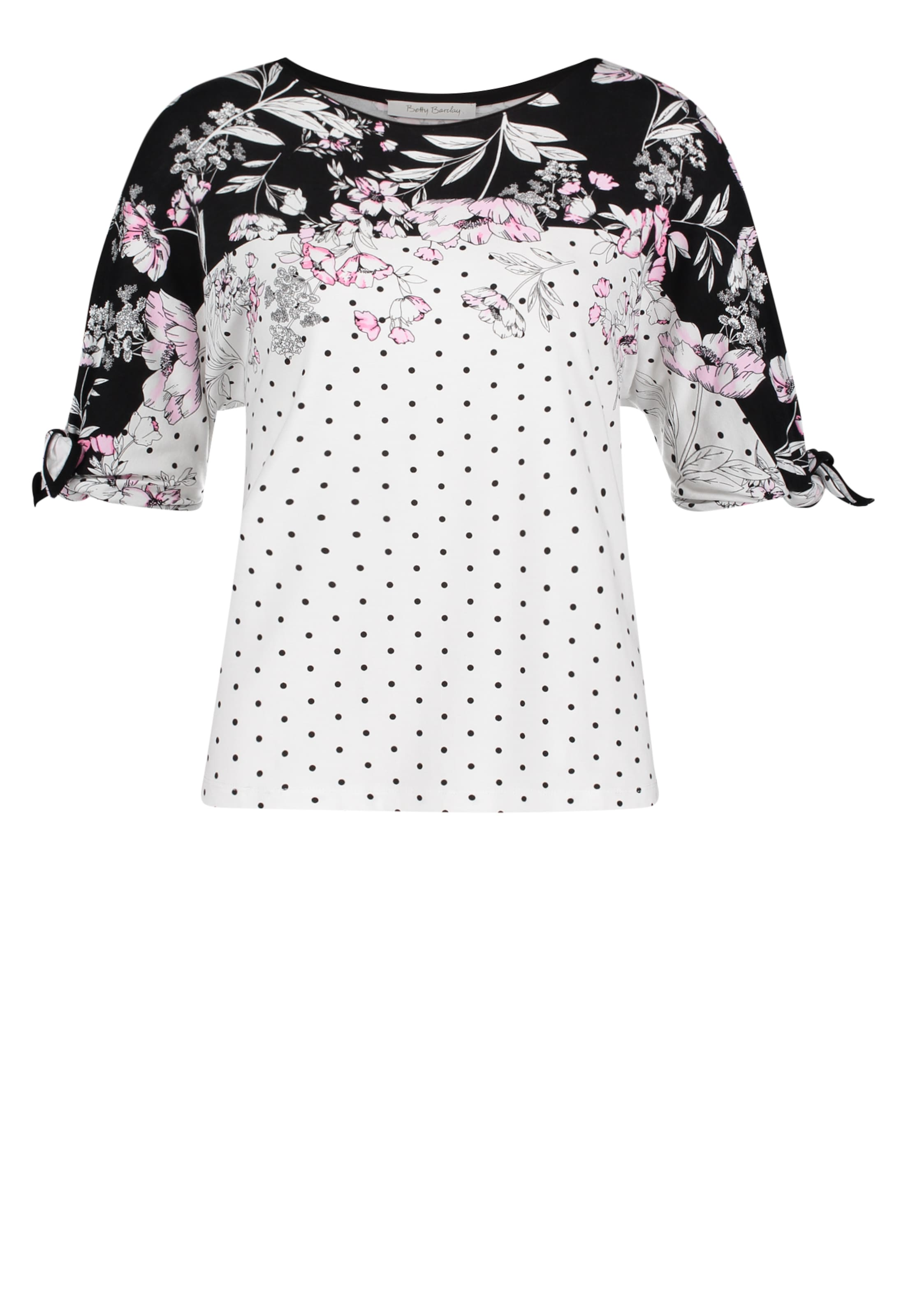 HellpinkSchwarz Betty Shirt Weiß Barclay In nZN80OwPkX