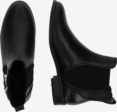 ONLY Chelsea Boots en noir: Vue de profil