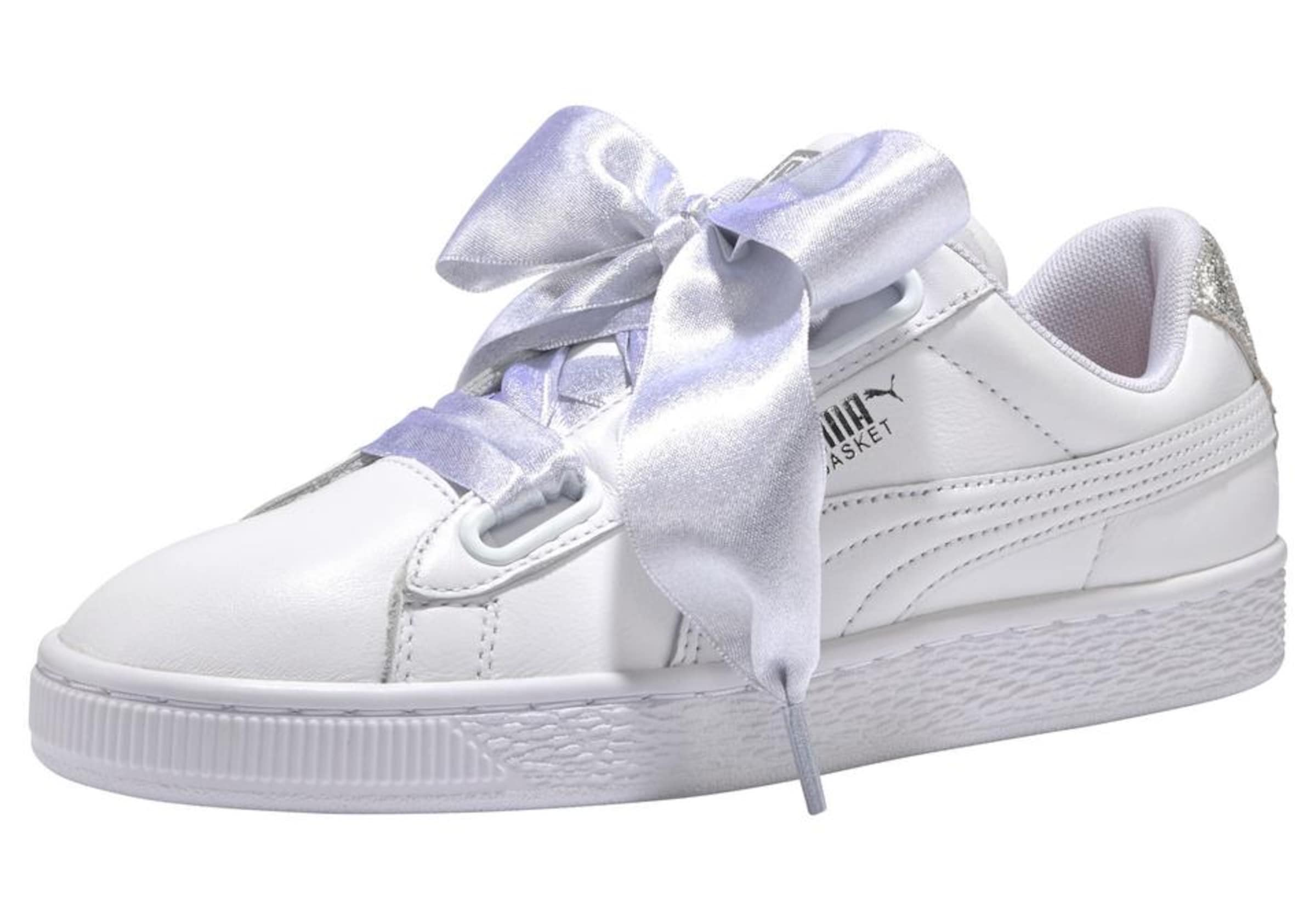 Puma Heart In 'basket SilberWeiß Sneaker Bio Hacking' rBWCxdoe