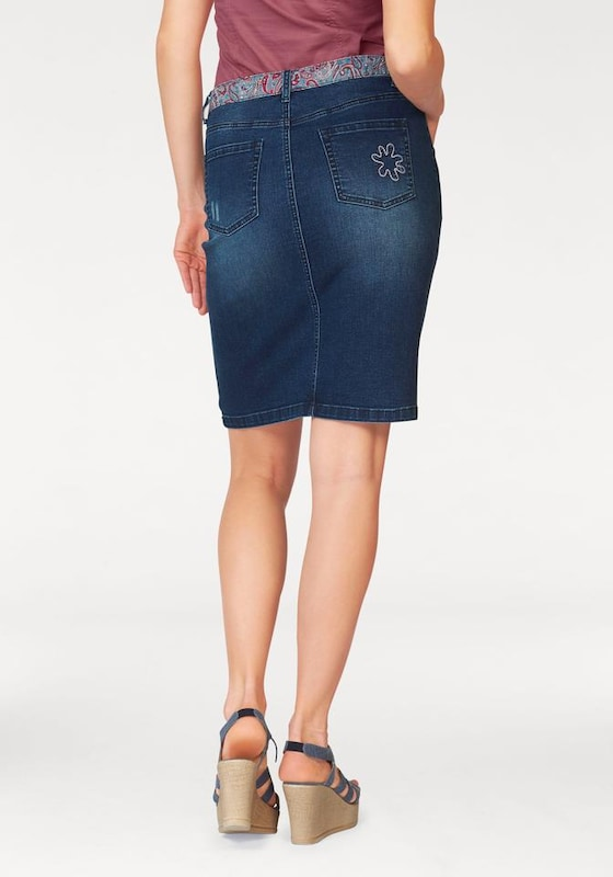 BOYSEN'S Jeansrock 'Pencil Skirt'