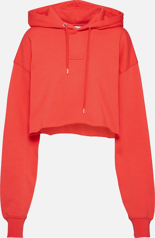 Worst Behavior Sweatshirt 'Lauren' in de kleur Rood, Productweergave