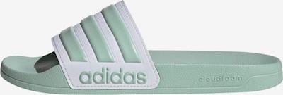 ADIDAS PERFORMANCE Pantolette in mint / weiß, Produktansicht