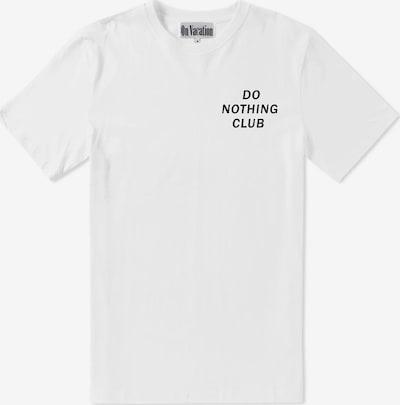 On Vacation Shirt in schwarz / weiß, Produktansicht