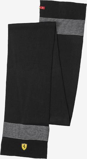 PUMA Schal in schwarz / weiß, Produktansicht