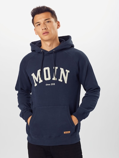 Derbe Sweatshirt 'Favorite Hoody Boys' in navy / weiß: Frontalansicht