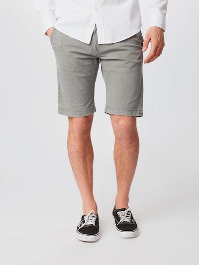 INDICODE JEANS Chino kalhoty 'Caedmon' - světle šedá: Pohled zepředu