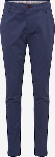 Tommy Jeans Pantalon chino 'STRIPE SCANTON' en bleu foncé / rouge: Vue de face