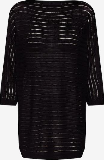 VERO MODA Pullover 'VMYOYO 3/4 BOATNECK LONG BLOUSE' in schwarz, Produktansicht