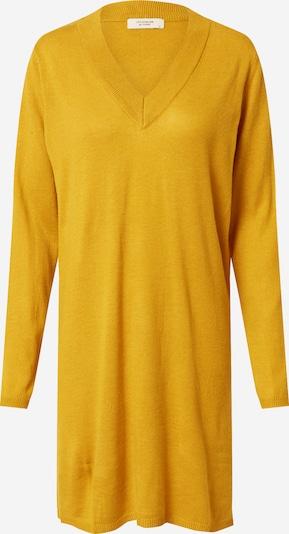 Rochie tricotat 'Zoe' JACQUELINE de YONG pe galben auriu: Privire frontală