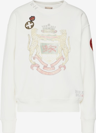POLO RALPH LAUREN Sweatshirt 'ANMLCRST FLC-LONG SLEEVE-KNIT' in beige, Produktansicht
