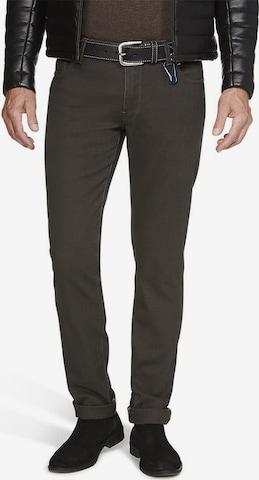 Meyer Hosen Jeans in Braun