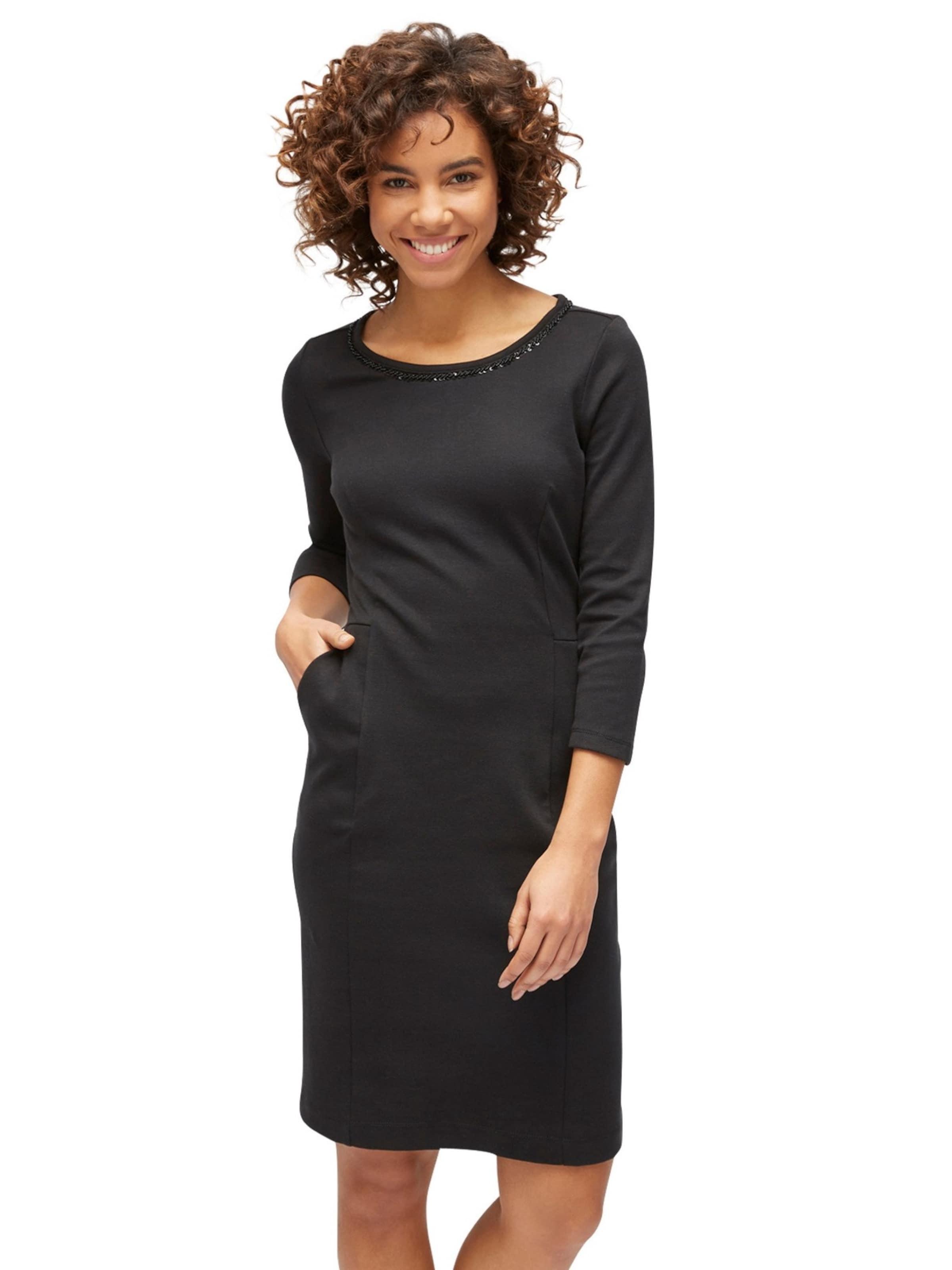 TOM TAILOR Dress Jerseykleid mit Taschen Steckdose Online Freies Verschiffen Ebay Verkauf Billig 0lRTLU