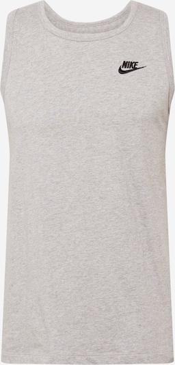 Nike Sportswear Shirt 'Club' in de kleur Grijs gemêleerd: Vooraanzicht