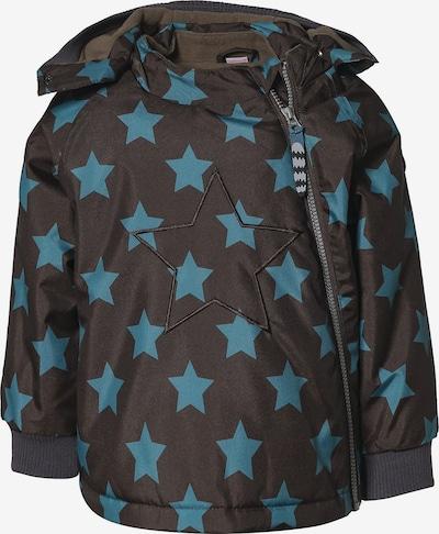 Racoon Outdoor Winterjacke 'ASMUS STAR' in türkis / braun, Produktansicht