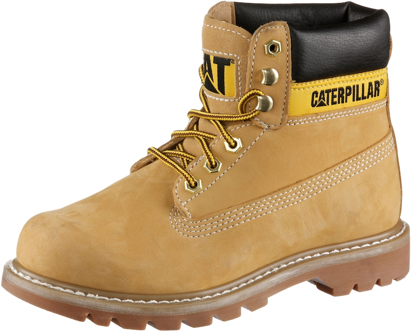7ad8c01478d CATERPILLAR Veterlaarsjes 'Colorado' in Camel / Zwart | ABOUT YOU