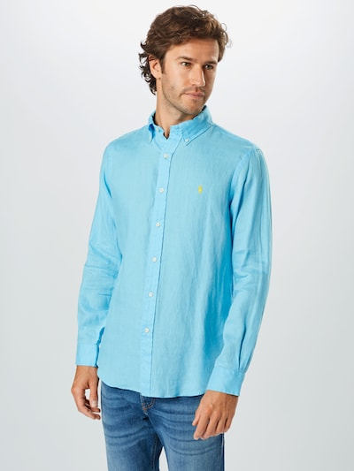 POLO RALPH LAUREN Overhemd in de kleur Lichtblauw: Vooraanzicht