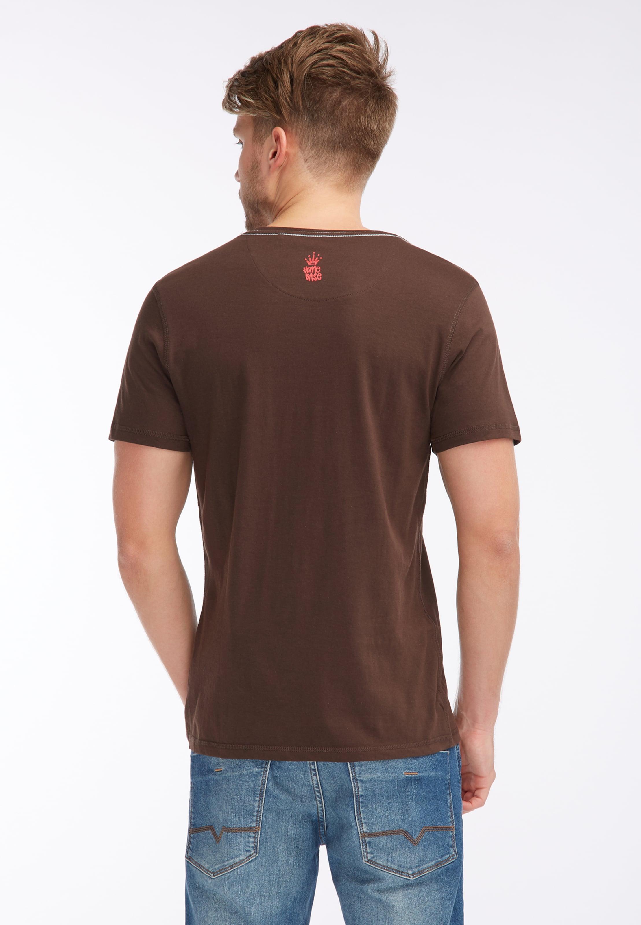 T shirt shirt In Braun T shirt In Braun Homebase Homebase Homebase T xBroedCW