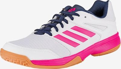 ADIDAS PERFORMANCE Hallenschuhe 'Speedcourt W' in pink / weiß, Produktansicht