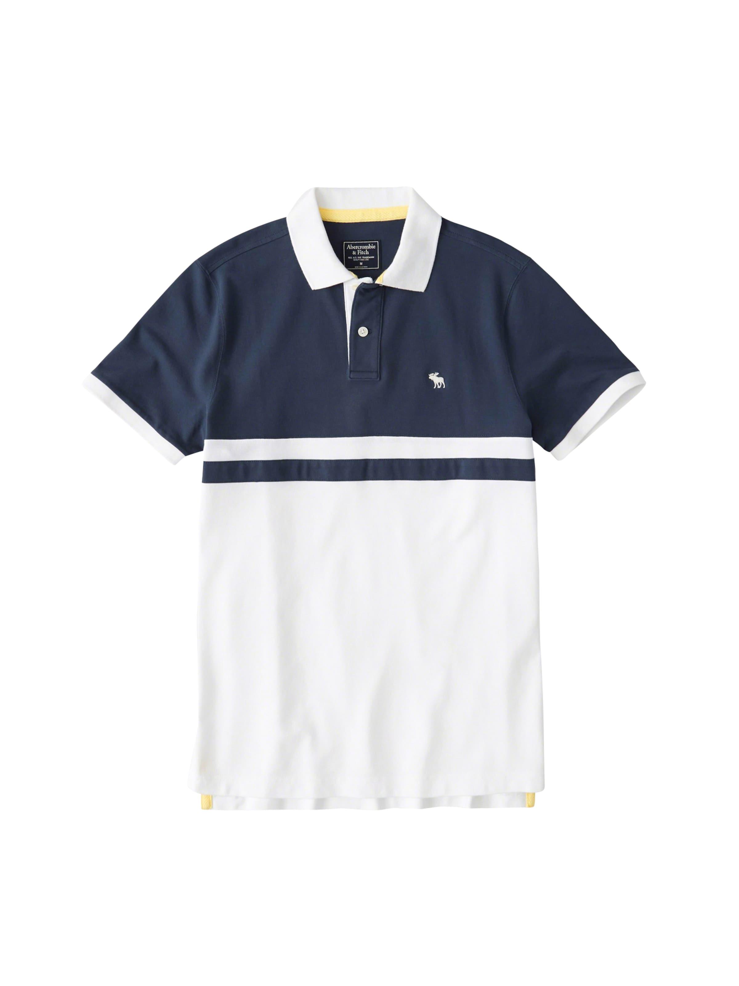 'dtc Bleu Abercrombieamp; shirt En T MarineBlanc Buoy' Fitch Ok0Pnw