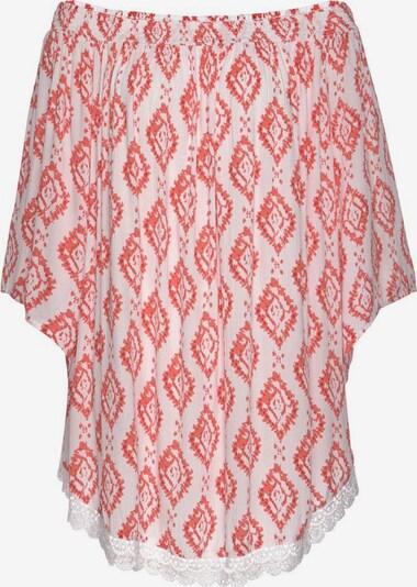 s.Oliver Plážové šaty - pastelově červená / bílá, Produkt
