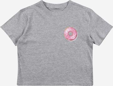 Mister Tee T-Shirt 'Donut' in Grau