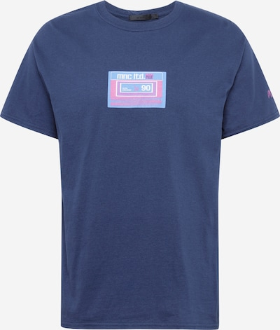 Mennace Tričko 'PRIDE CASSETTE' - námořnická modř / světlemodrá / pink, Produkt