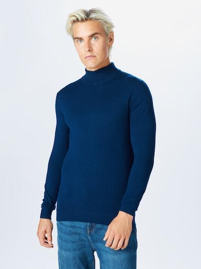 Only & Sons Pullover 'MIKKEL' in dunkelblau: Frontalansicht