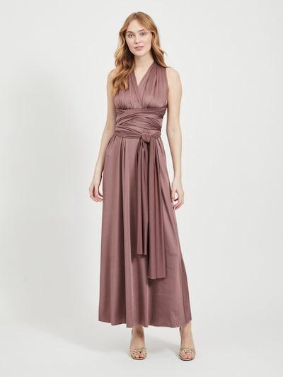VILA Kleid in mokka, Modelansicht
