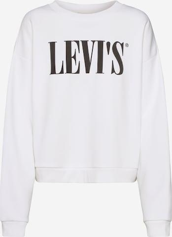 LEVI'S Sweatshirt 'GRAPHIC DIANA CREW' in White