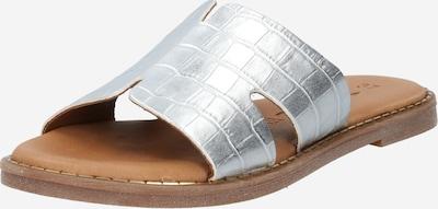 TAMARIS Pantolette in silber, Produktansicht