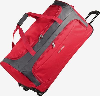 TRAVELITE Reisetasche in dunkelgrau / rot, Produktansicht