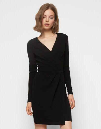 mbym Kleid mit Lurex 'Madena' in schwarz, Modelansicht