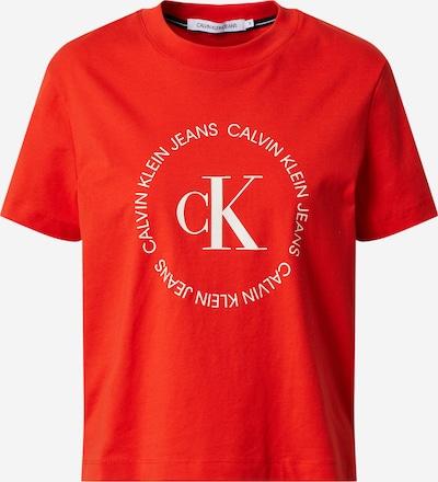 Calvin Klein Jeans Shirt in rot, Produktansicht