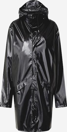 Palton de primăvară-toamnă RAINS pe negru, Vizualizare produs