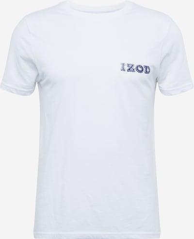 IZOD T-Shirt in weiß, Produktansicht
